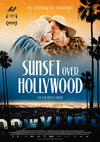 Plakat SUNSET OVER HOLLYWOOD